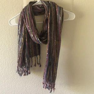Forever 21 Pink Tibetan-inspired scarf